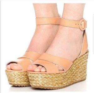 Alice + Olivia Roberta Espadrille Wedges Sandals